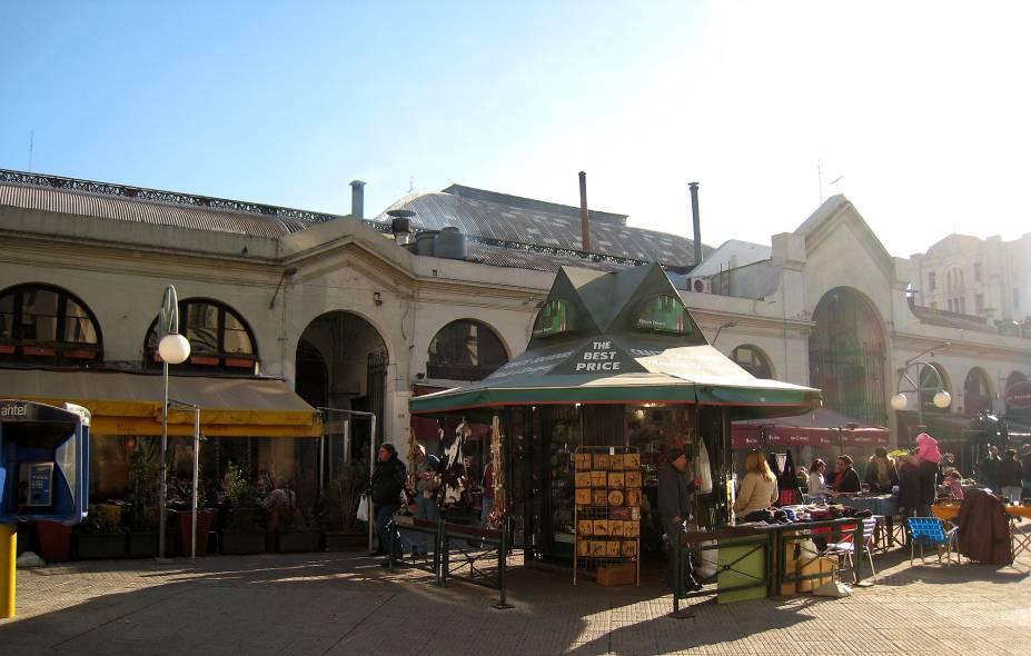 Vista externa do Mercado del Puerto