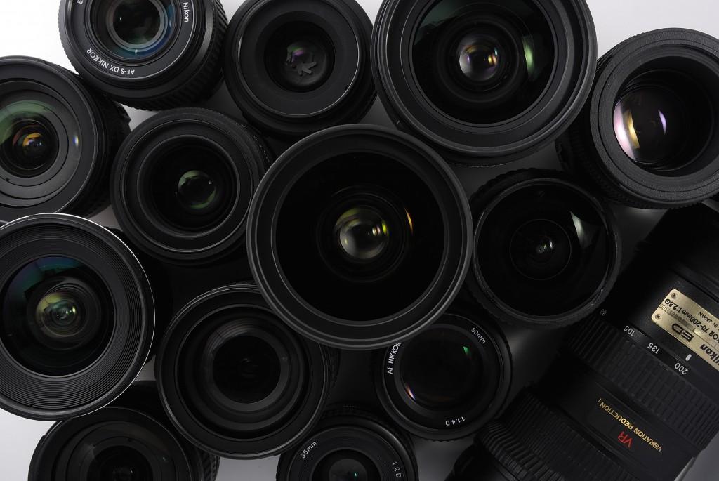 Minhas lentes se resumem a uma zoom 70-300mm e outra fisheye, de 8mm
