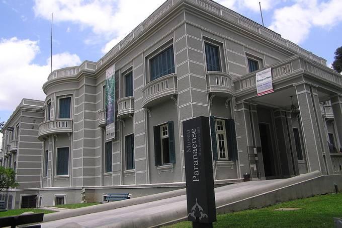 A história do Estado contada no Museu Paranaense. Foto: Morio/Wikkimedia Commons
