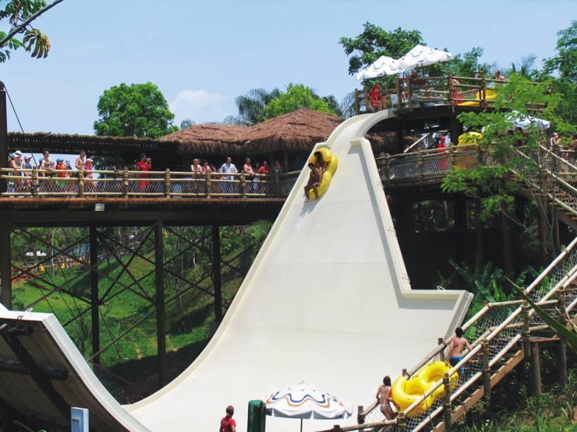 Opções não faltam no Hot Park, em Rio Quente (GO)