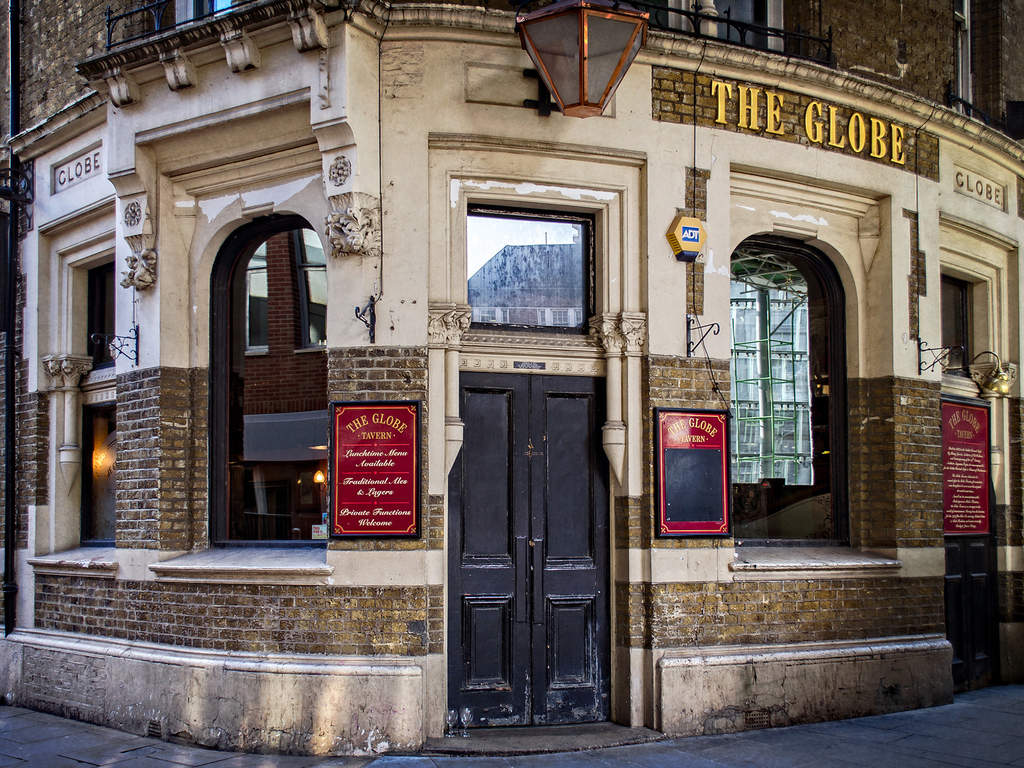 Foto: Garry Knight/Flickr/Creative Commons  (The Globe Pub - Londres)