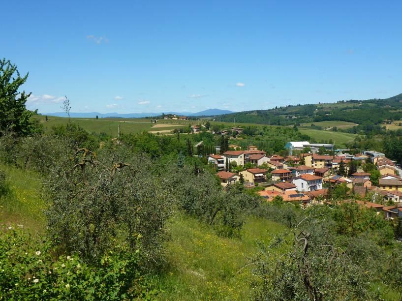 Greve in Chianti sempre foi um território valorizado do ponto de vista da produção agrícola