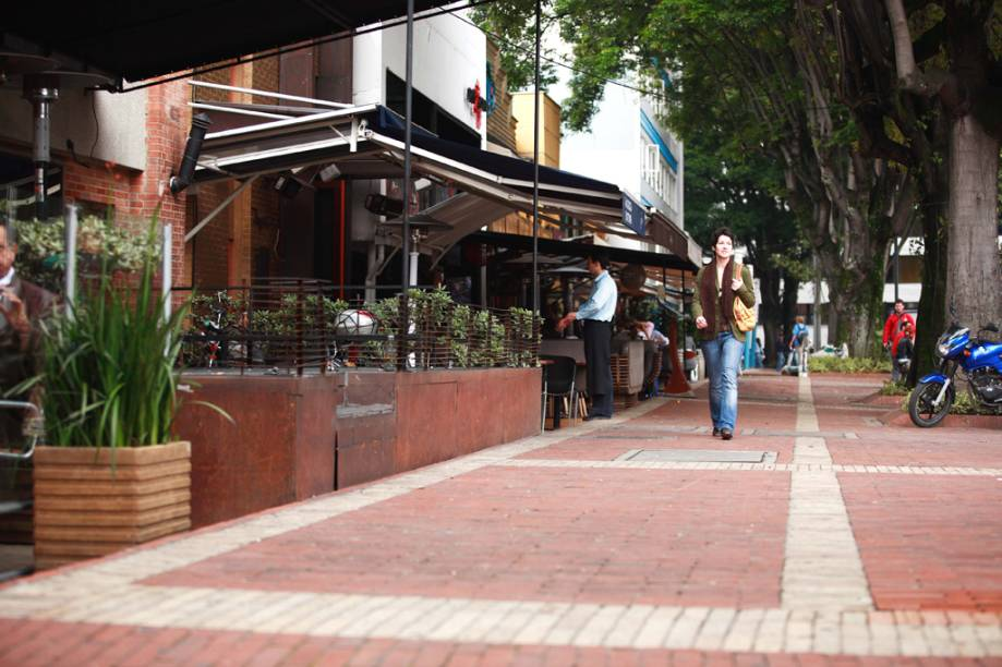 Bogotá tem ótimos e charmosos restaurantes concentrados na chamada zona T