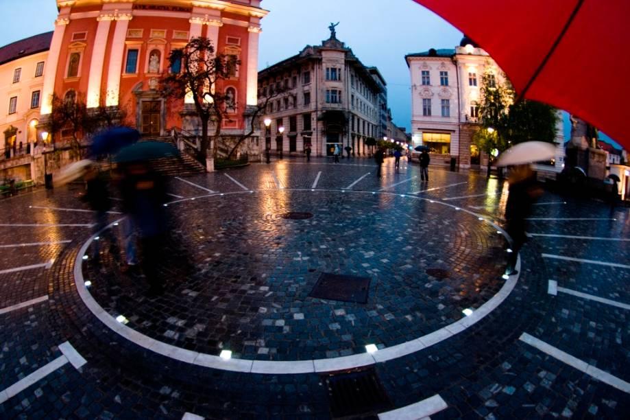 Praça Presernov, Liubliana