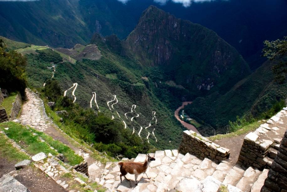 Trilha inca, rumo a Machu Picchu