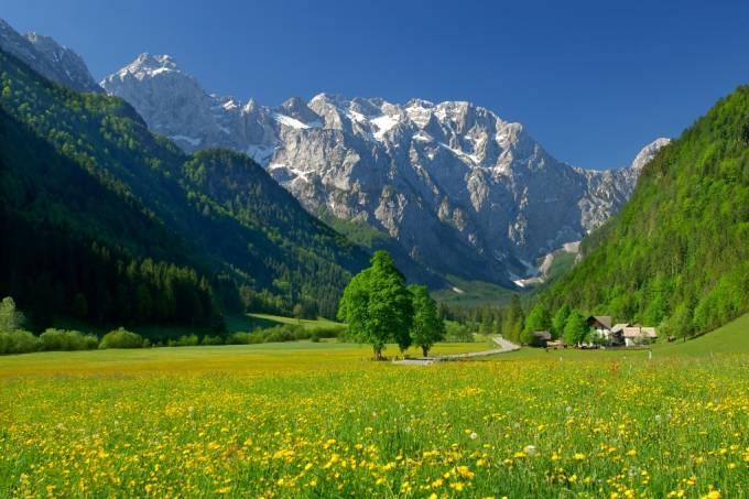 Alpes eslovenos, Eslovênia