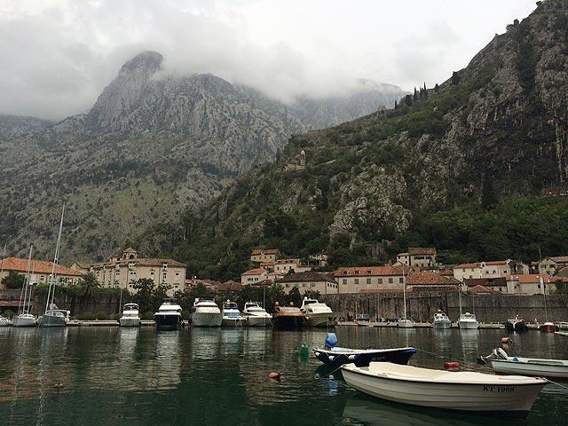 A marina de Kotor