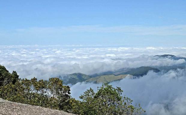 A Pedra Redonda, a 1930 metros acima do nível do mar / Divulgação