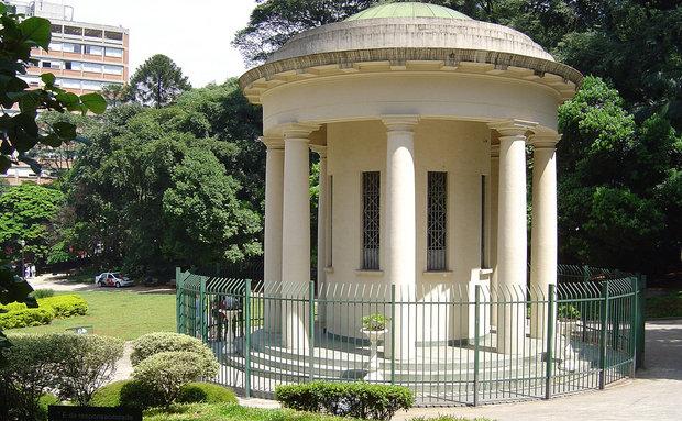 A Praça Alexandre de Gusmão integra o Parque Trianon / Sergio Tauhata