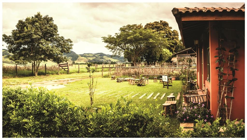 A propriedade em Joanópolis é um passeio de fim de semana / Divulgação