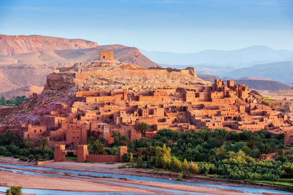 Aït-Benhaddou,-Morocco