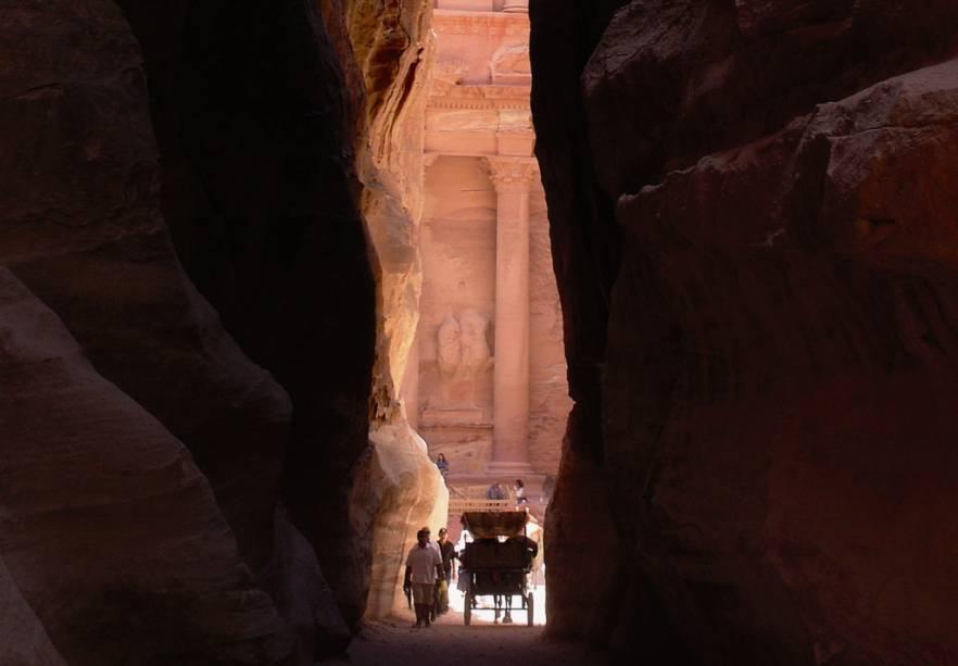 Desfiladeiro de al-Siq, Petra