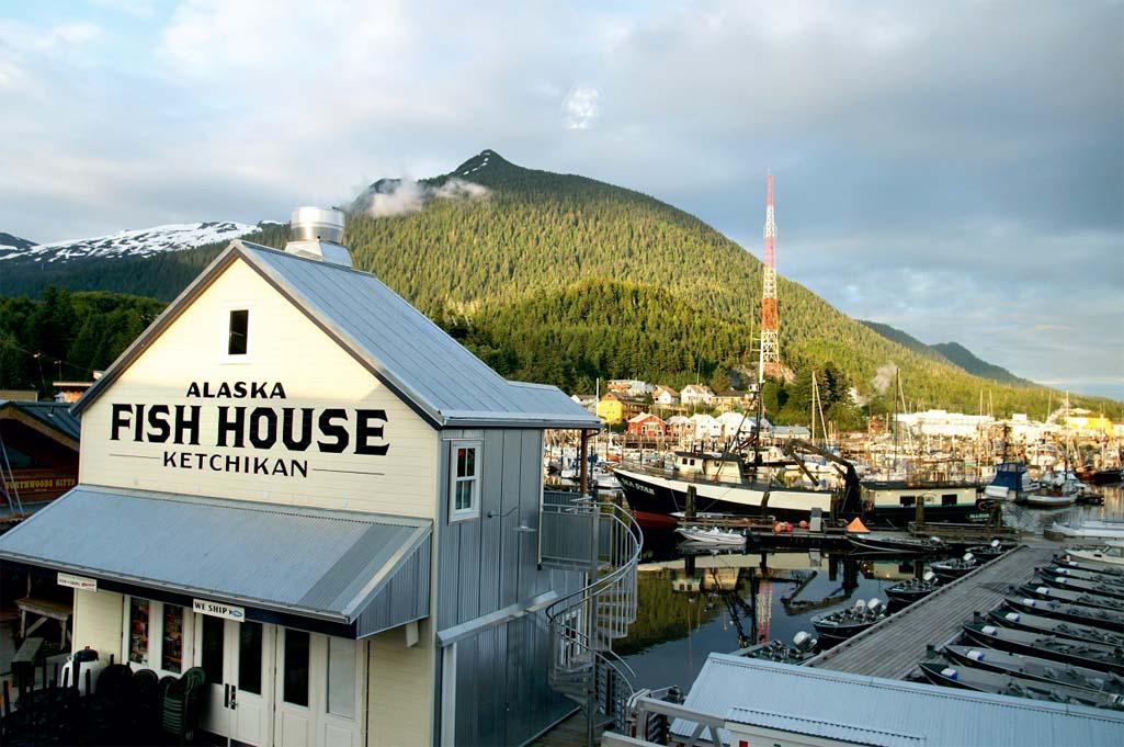 Alaska Fish House, que serve bons frutos do mar