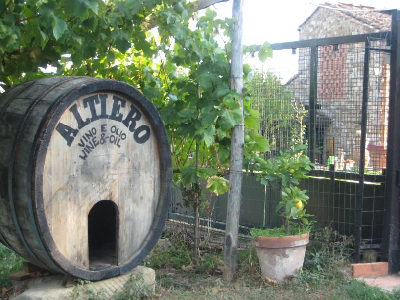 A vinícola se empenha pela excelência na fabricação do vinho e do azeite seguindo a tradição que remonta a cerimoniais ancestrais conservadas até hoje