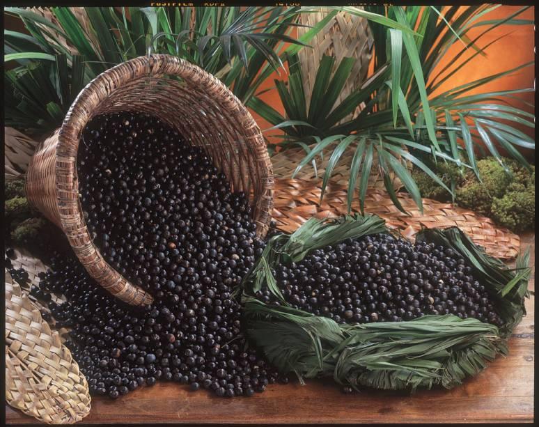 Açaí, fruta típica da região amazônica