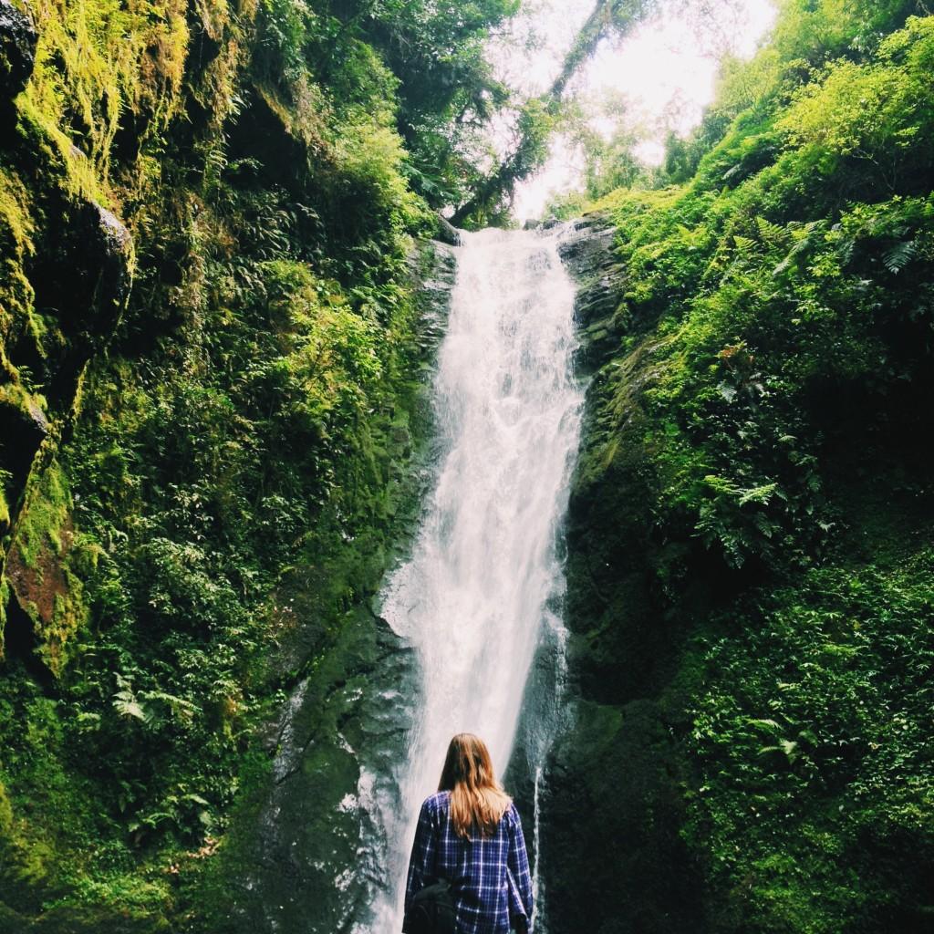 Cachoeira da Ravina no Parque das 8 Cachoeiras, em São Francisco de Paula, RS