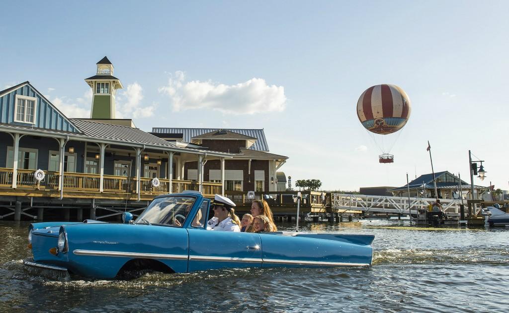 Tour por Downtown Disney no amphicar (Foto: divulgação)