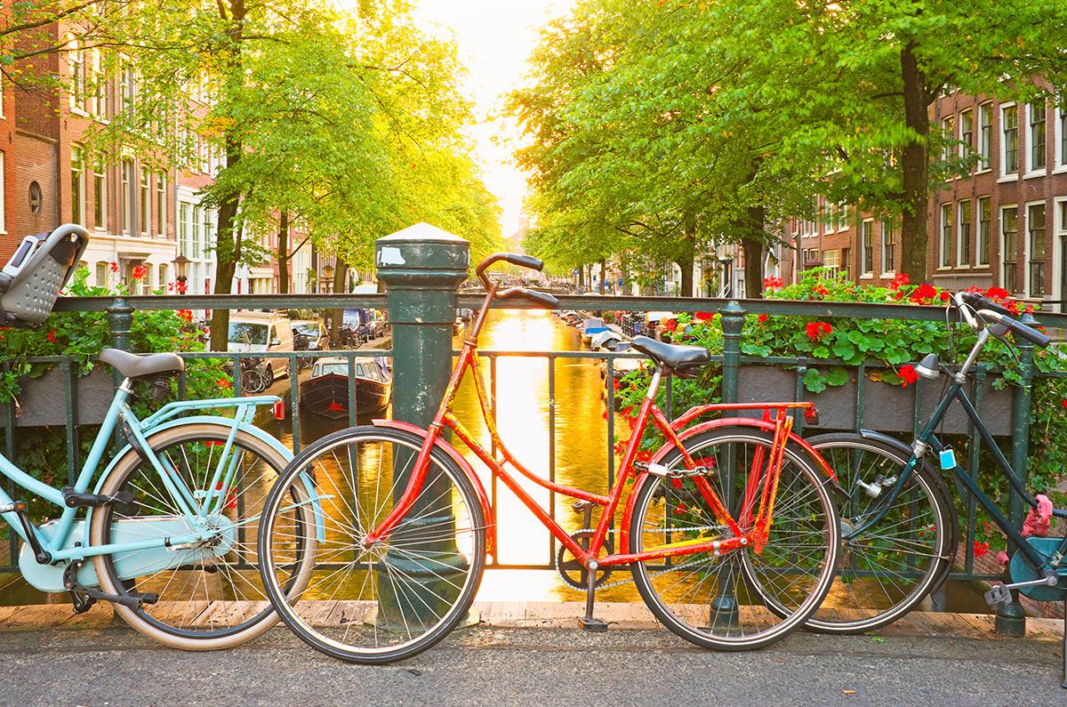 Parte romântica e fofa desse post (Amsterdam)