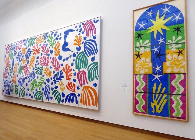 Matisse na banheira