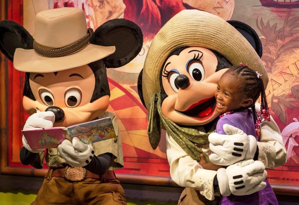 Animal Kingdom Adventurer's Outpost Disney World Resort Orlando EUA