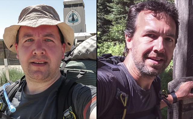 Andy Davidhazy fez trilha pelas montanhas do oeste dos EUA
