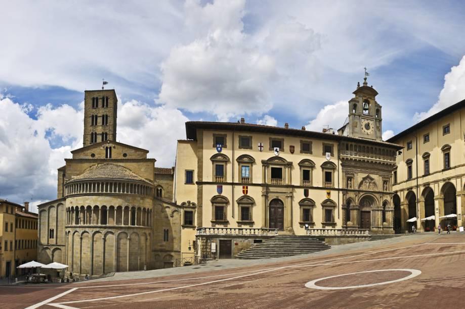 Piazza Grande Square, Arezzo, Itália