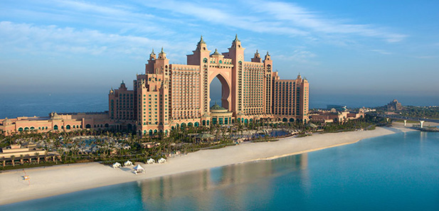 Hotel Atlantis, no Palme Jumeirah
