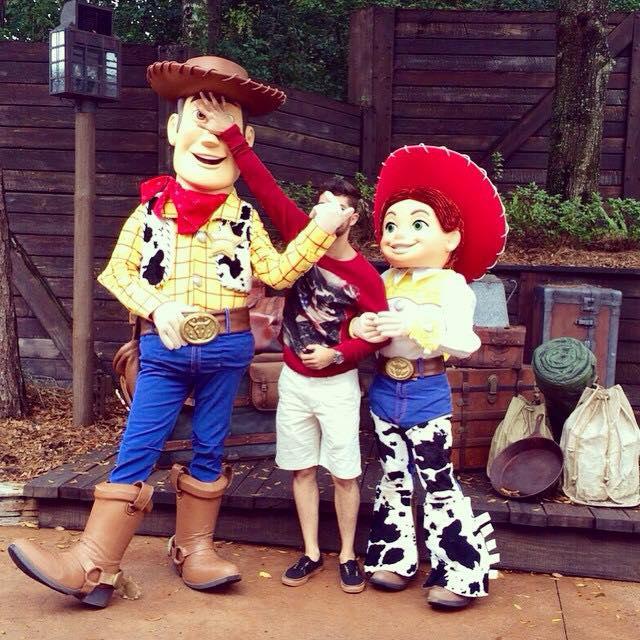 Woody e Jessie (Toy Story) com Augusto Louzada