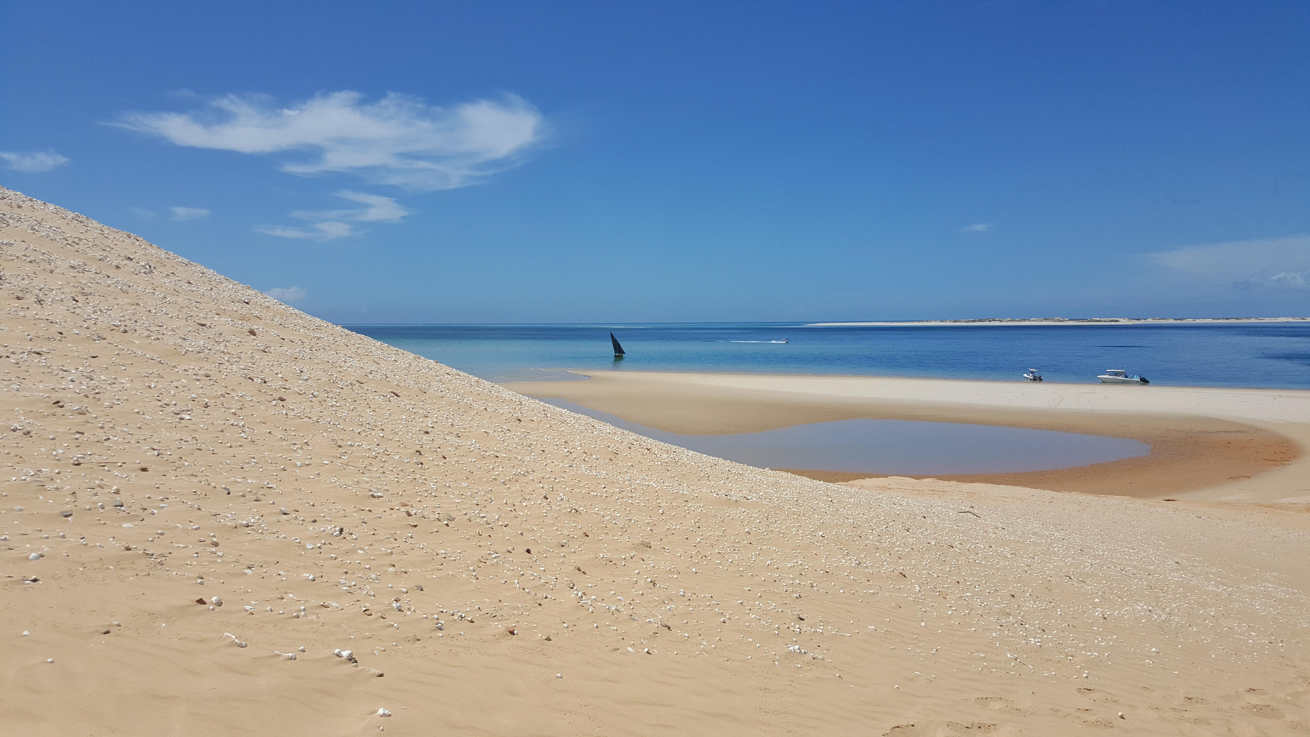 A subida da duna