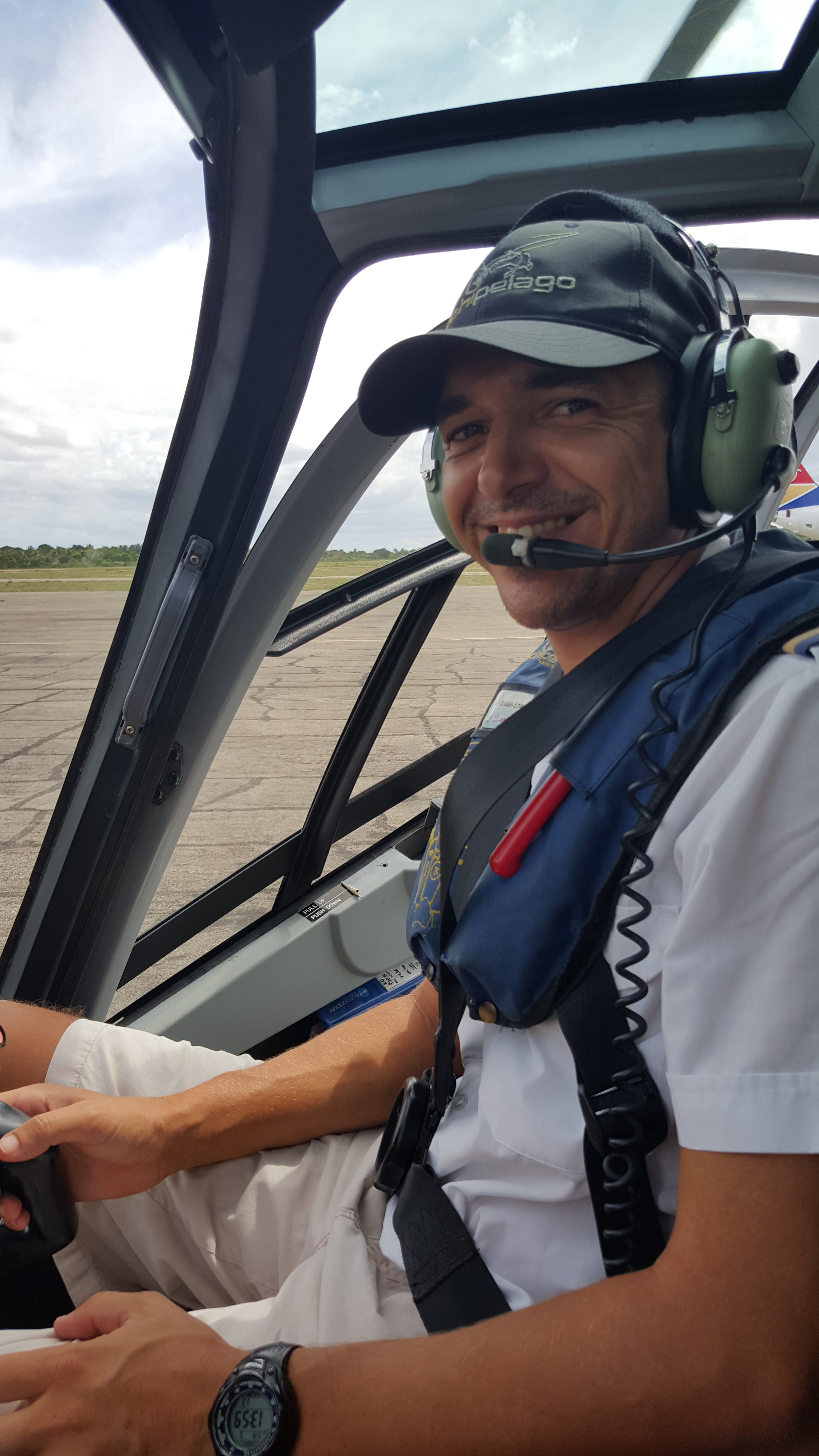 Nosso jovem piloto sul-africano