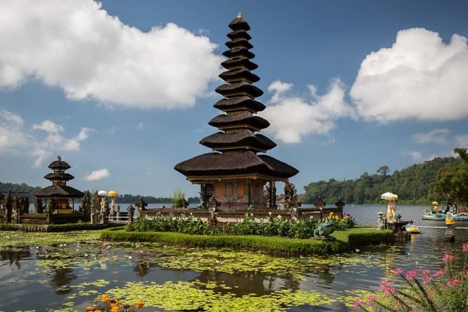 Templo Pura Ulun Danu Bratan, em Bali