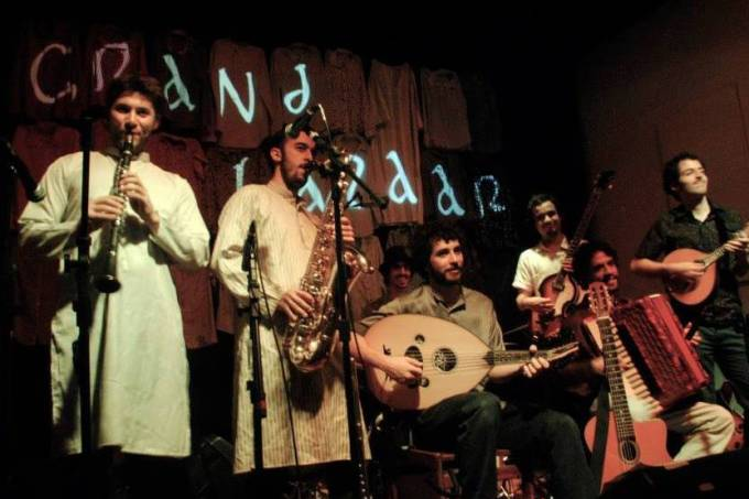 banda grand bazaar / foto divulgação