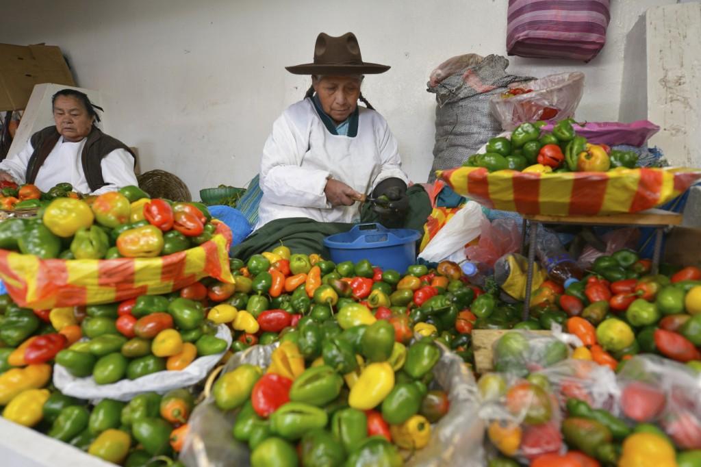 Barraca de pimentas em Cuzco, no Peru (foto: iStock)