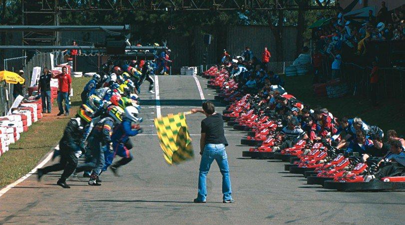 Bateria no Kartódromo Granja Viana / Divulgação