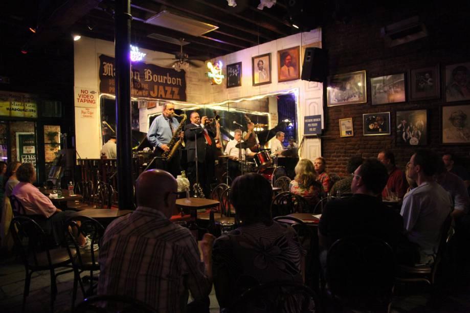 Nova Orleans é a terra natal do jazz. Nos muitos clubes espalhados pelo French Quarter e arredores, o turista apreciará a alma e o ritmo da cidade