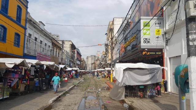 Um pedacinho bem roots do centro de Belém