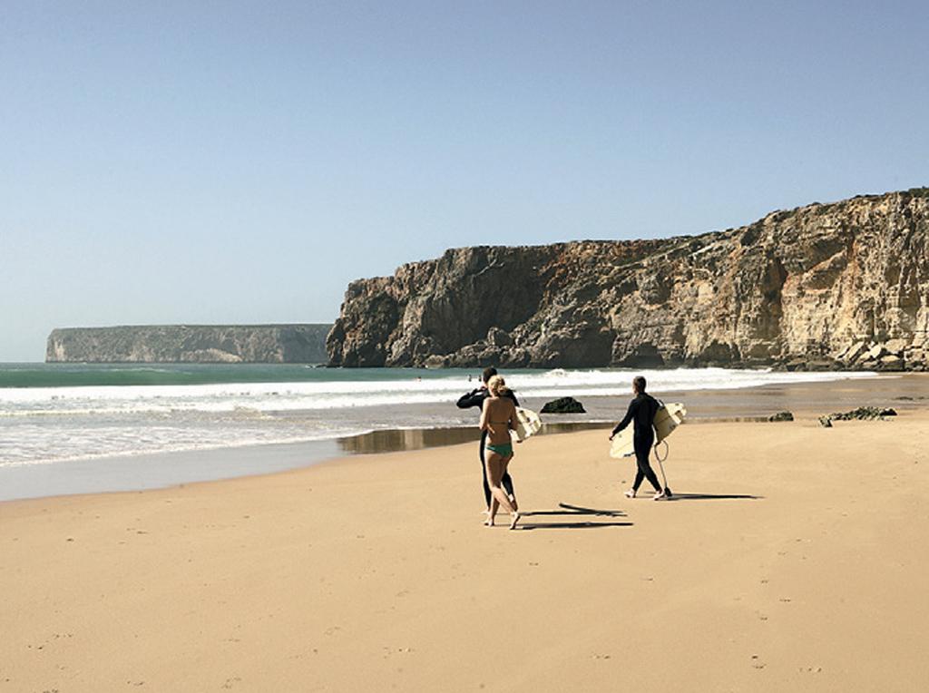 Praia do Beliche, em Sagres, Portugal