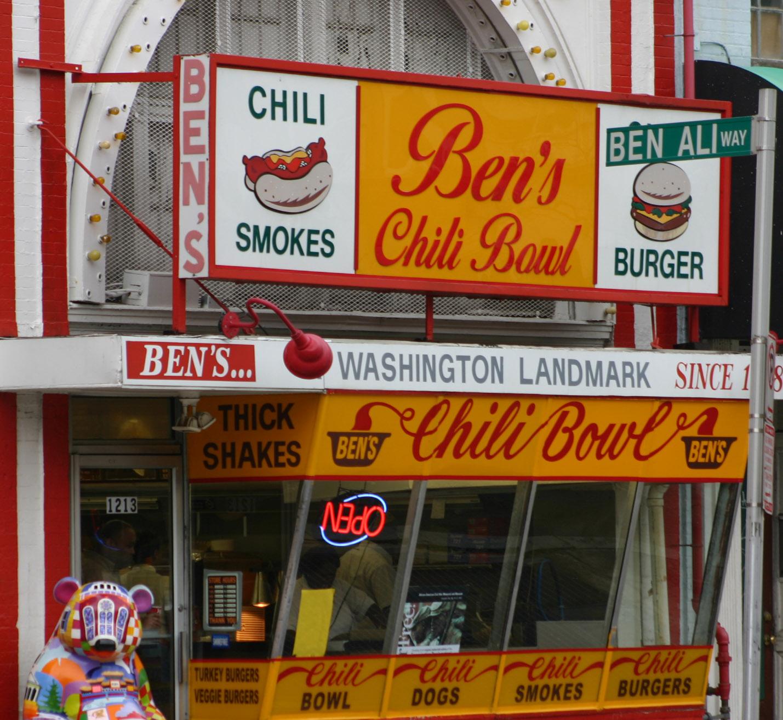 Ben's Chilli Bowl, na U Street