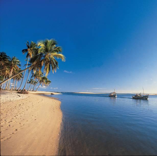 A Praia de Tassimirim é melhor para os pescadores do que para os banhistas