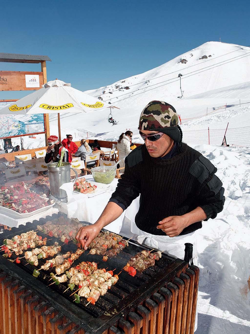 Boquinha de altitude no Valle Nevado