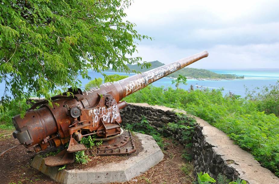 Canhão da Segunda Guerra Mundial
