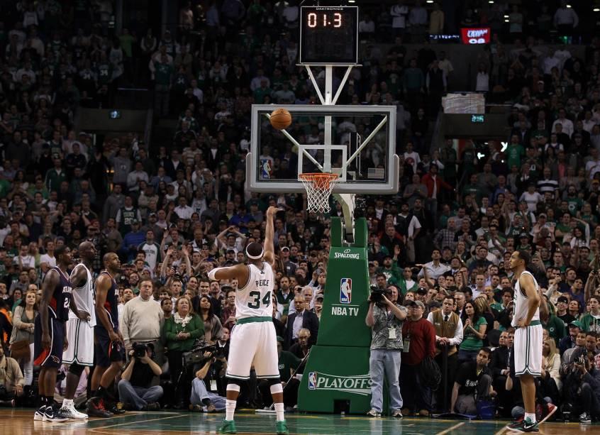 TD Garden, ginásio da NBA que é casa do orgulho da cidade, os Boston Celtics. Além de valorizar as universidades, Boston é conhecida por ter o esporte como uma de suas principais identidades
