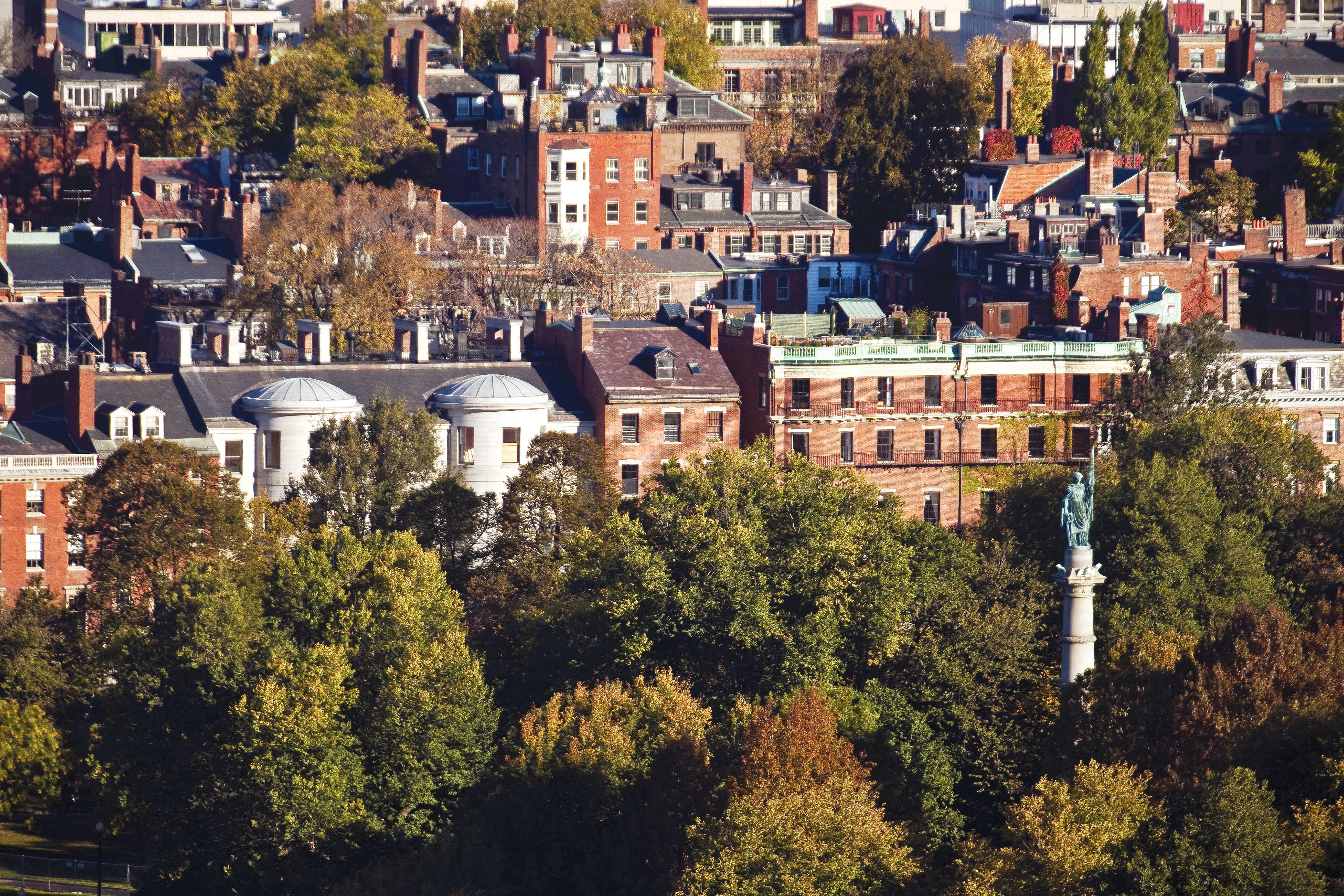 O bairro dos sonhos Beacon Hill, em Boston