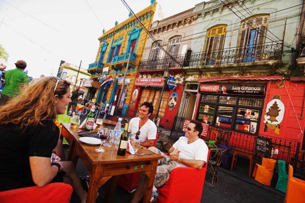 La Boca, tradicional reduto do tango em Buenos Aires