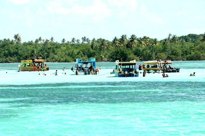 Nylon Pool, em Tobago