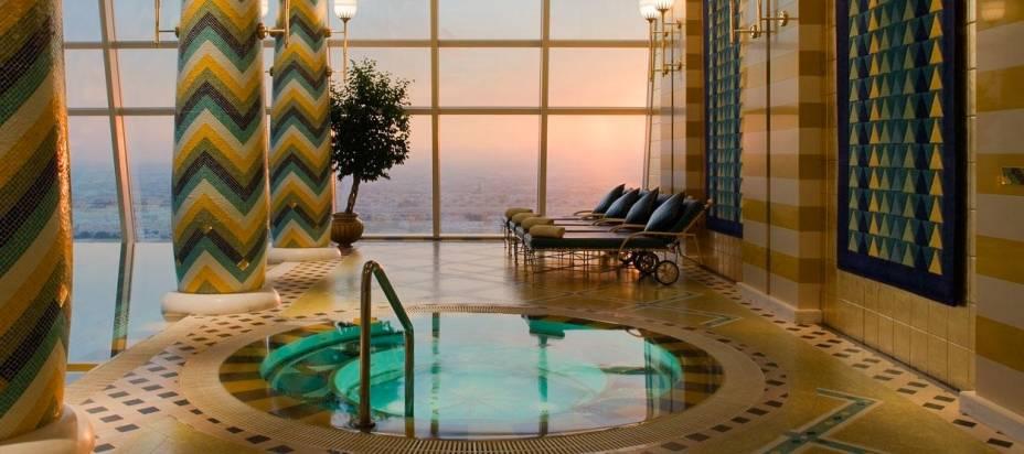 Spa Assawan, no hotel Burj Al Arab