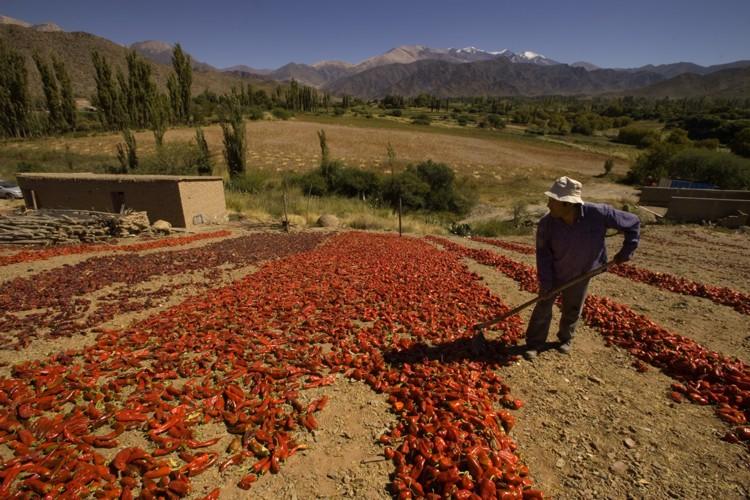 Cachi, a oeste de Salta
