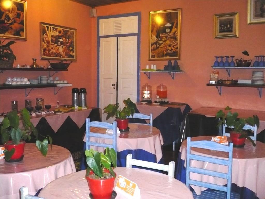 Café da manhã do Campos do Jordão Hostel SP