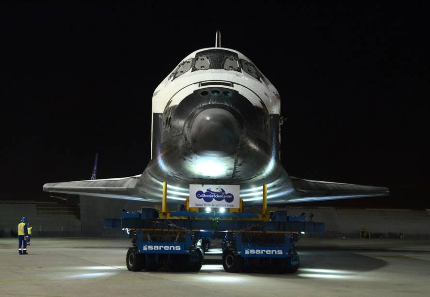O California Science Museum é casa permanente do ônibus espacial Endeavour
