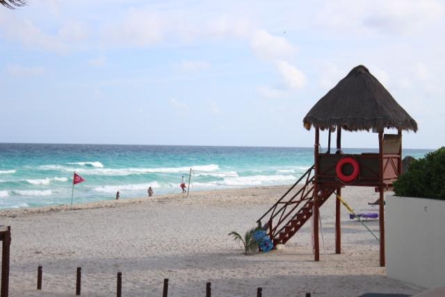 Mais uma foto de Cancún limpinha